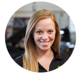 SARAH BOCK, SERVICE ADVISOR OF AASBY AUTOMOTIVE SERVICE, FAIR GROVE, MO